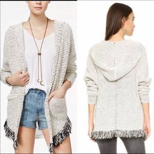 Free People Love Me Tender Open Front Cardigan XS